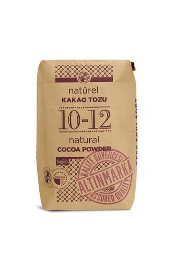 Kakao Tozu Natürel  %10-12 Yağ 25Kg