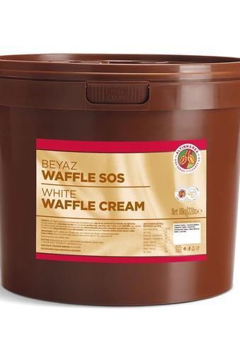 Beyaz Waffle Sos Kova 10Kg