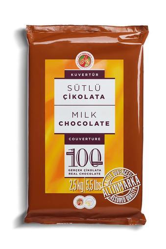 ALT70 Sütlü Kuvertür Çikolata 2,5Kg