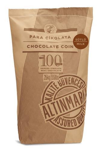 ALT70 Sütlü Para Çikolata 25Kg