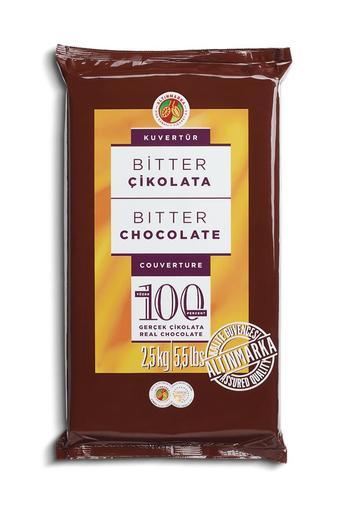 ALT45 Bitter Kuvertür Çikolata 2,5Kg