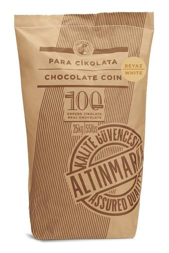 ALT248 Fildişi Para Çikolata  25Kg