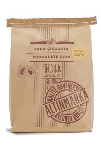 ALT248 Fildişi Para Çikolata 5Kg