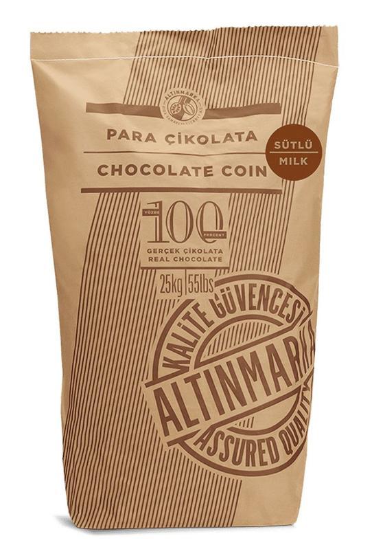 ALT247 Sütlü Para Çikolata 25Kg