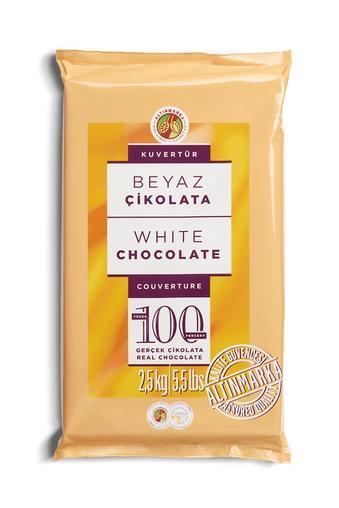 ALT182 Fildişi Kuvertür Çikolata 2,5Kg