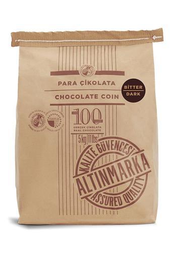 ALT209 Şeker İlavesiz Bitter Para Çikolata 5Kg