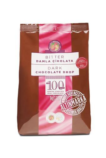 Isıya Dayanıklı Bitter Damla Çikolata 1Kg