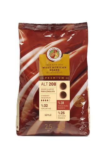 ALT208 Şeker İlavesiz Sütlü Mini Para Çikolata 2,5Kg