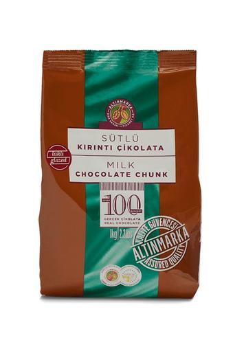 Sütlü Kırıntı Çikolata 4-7 mm Parlak 1Kg