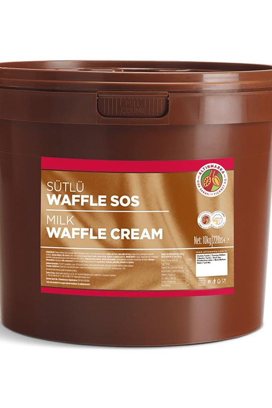 Sütlü Waffle Sos Kova 10Kg