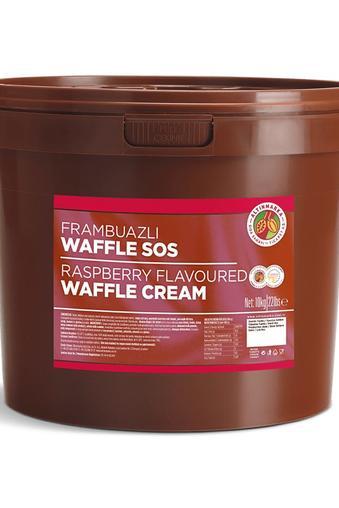 Frambuazlı Waffle Sos 10Kg
