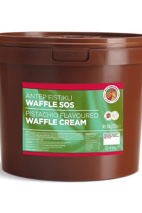 Antep Fıstıklı Waffle Sos 10Kg